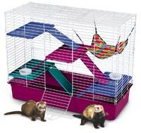 """Клетка для хорьков """"Люкс"""", 4 полки+аксессуары, Super Pet"""
