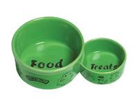 Миска керамическая вода + еда, Super Pet