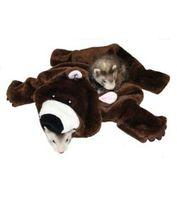 Плед-мешочек для сна Медведь, Marshall Pet Bear Rug Ferret Sleep Sack
